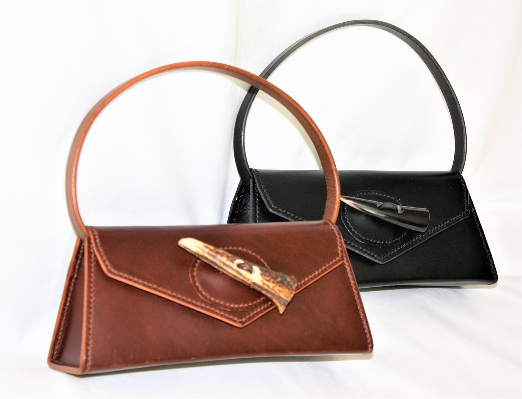 The Larger Handbags Are Made Either With An Internal Pocket Or Supplied A Handmade Leather Pouch